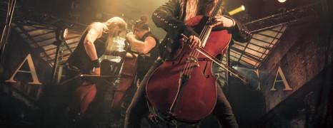 Apocalyptica live at Den Atelier