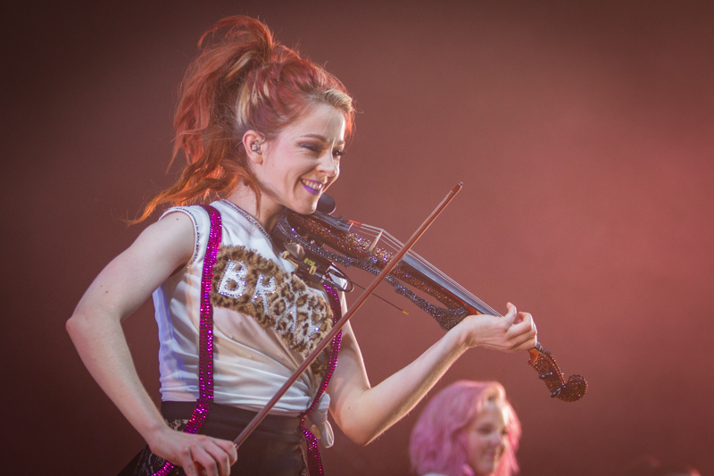 Lindsey Stirling live at The Rockhal