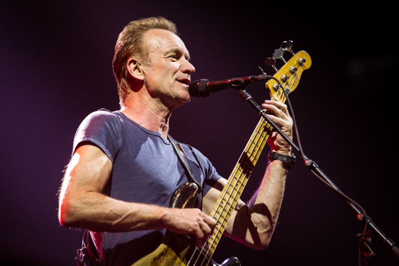 Sting live at The Rockhal