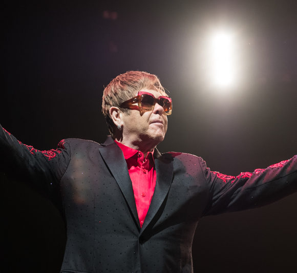 Elton John at La Coque
