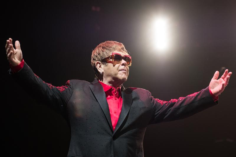 Elton John at La Coque